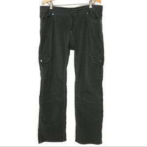 Kuhl 14 Splash Roll Ankle Cargo Pants Dark Gray